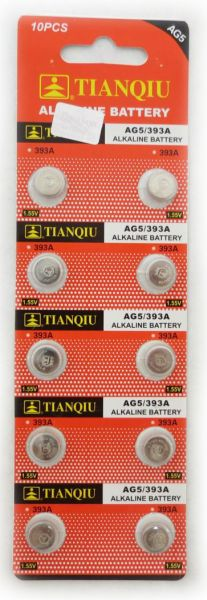 Ag5 Battery Lr754 393 Free Shipping 10 For 225 Usa