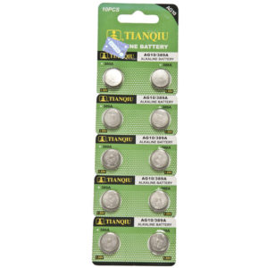 AG10 battery blister pack