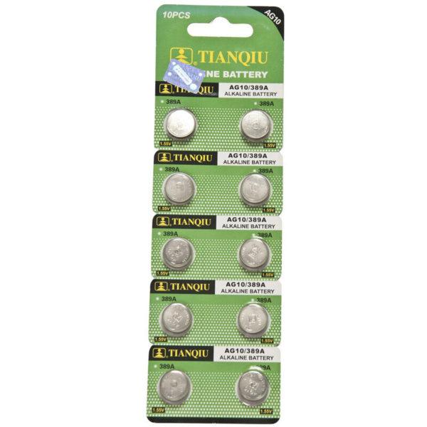 AG10 battery blister pack