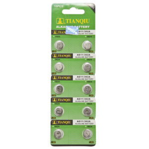 AG11 battery blister pack
