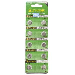 AG11 battery blister pack