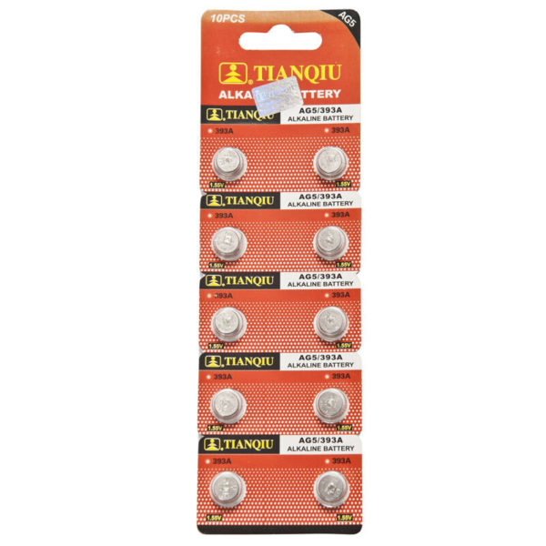 AG5 battery blister pack