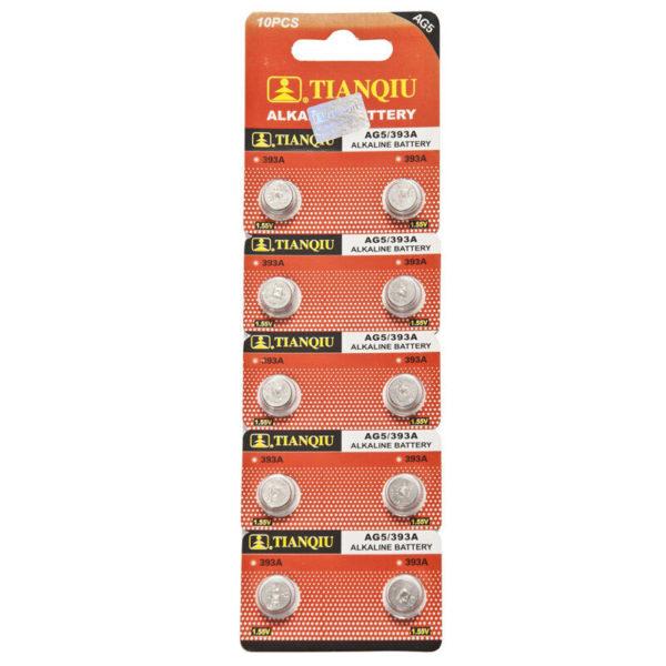 AG5 battery blister pack