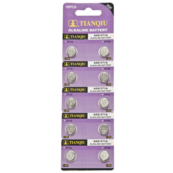AG6 battery blister pack