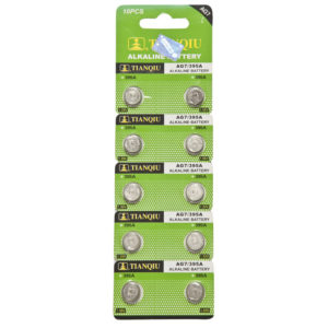 AG7 battery blister pack