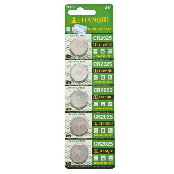 CR2025 battery blister pack